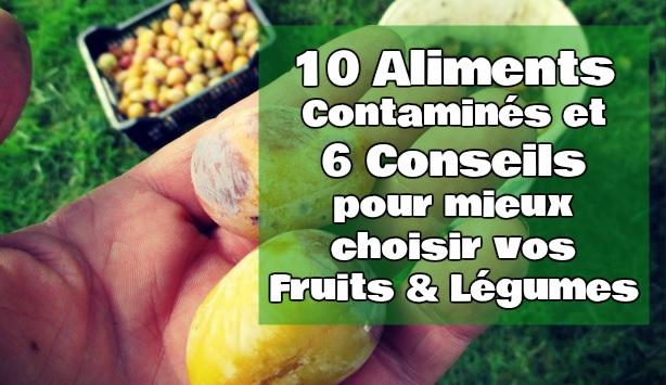 les fruits qui donnent la diarrhée