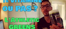 L'Athletic Greens est un supplément alimentaire