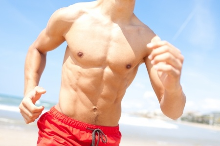Course à pieds et muscles