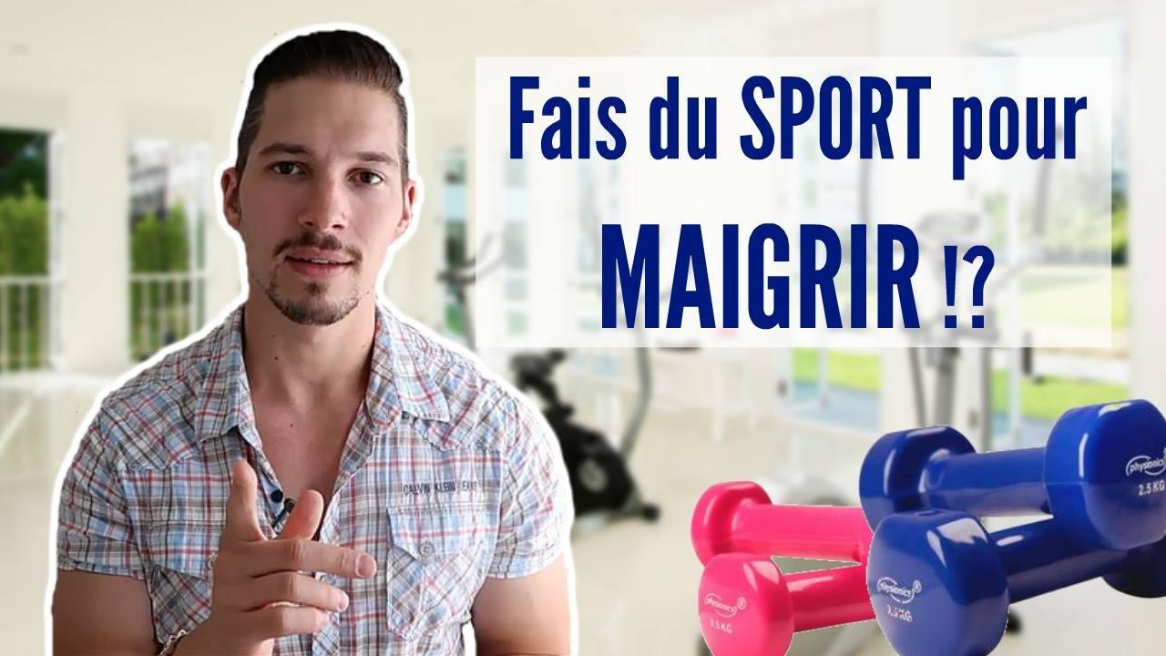 Faut-il Faire du SPORT pour Maigrir ? (Vidéo) - Ventre