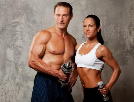 Musculation homme et femme
