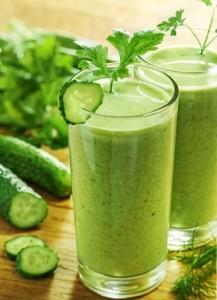 recettes jus detox vert